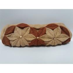 Portapenne in lana cotta
