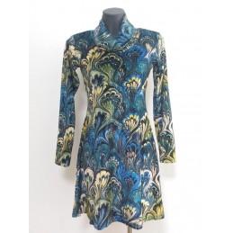 Vestito fantasia blu