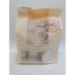 Bustine con 10 tea light profumate