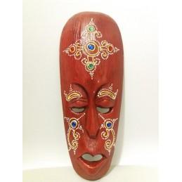 Maschera rossa cm 25