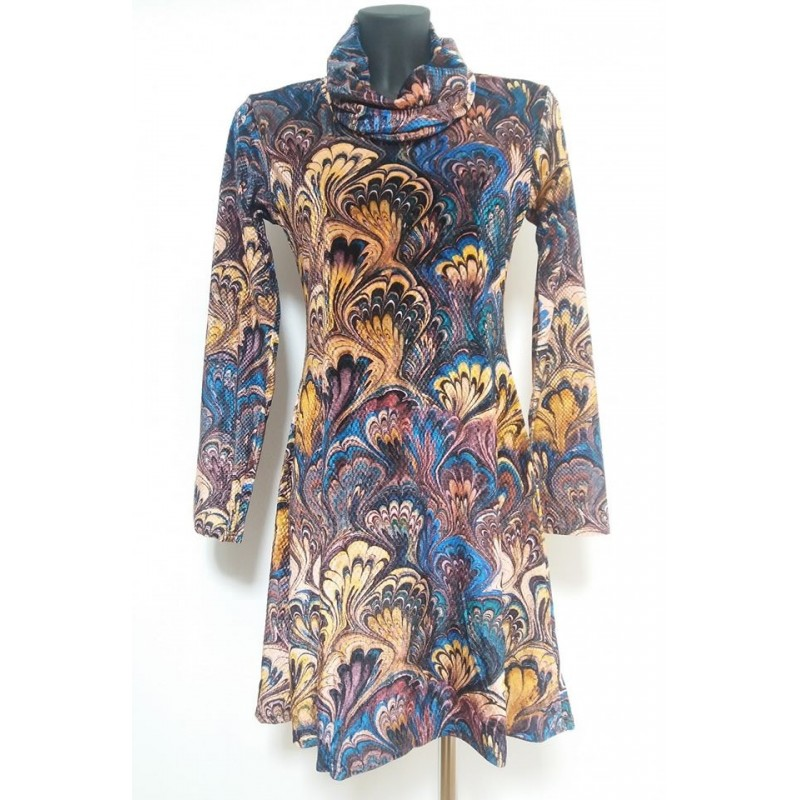 Vestito fantasia oro