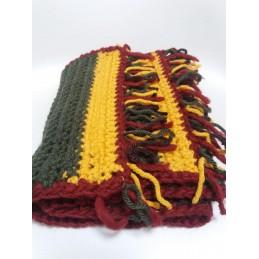 Sciarpa in lana spessa
