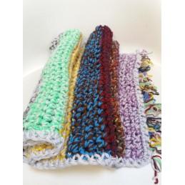 Sciarpa doppio filo multicolor
