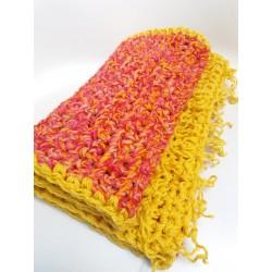 Scialle o sciarpa colori del sole