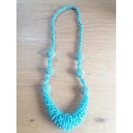 Collana lunga turchese