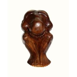 Yogi o Buddha che piange gambe distese