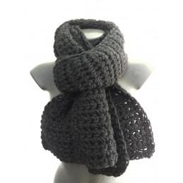 Scialle/sciarpa larga nero